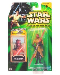 Power of the Jedi Carded Darth Maul (Sith Apprentice)