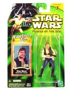 Power of the Jedi Carded Han Solo (Death Star Escape)