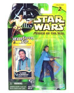 Power of the Jedi Carded Lando Calrissian (Bespin Escape)
