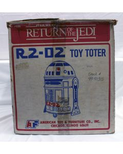 Vintage Star Wars Accessories Boxed R2-D2 Toy Toter - C8 with C5 Box DU (missing 2 Tee Nuts)