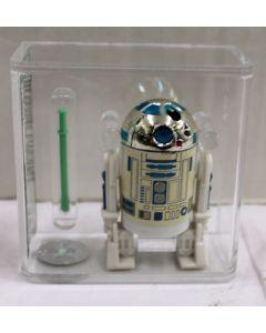 1985 Star Wars POTF Loose R2-D2 w/ Pop Up Saber Action Figure AFA 75 EX+/NM 13104421