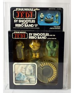 Vintage Star Wars Boxed ROTJ Beast Assortment Sy Snootles and the Rebo Band Canada AFA 80 Y-NM #11620173