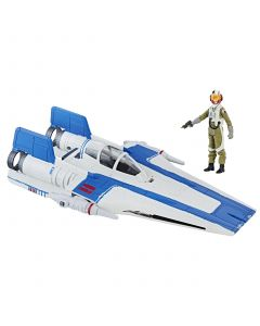 Star Wars The Last Jedi Vehicle Resistance A-Wing Fighter