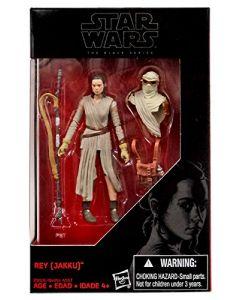 "Black Series The Force Awakens 3.75"" Boxed Rey (Jakku) Exclusive Action Figure"