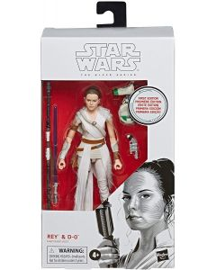 Star Wars Black Series Rey and D-O 6-Inch First Edition Action Figure