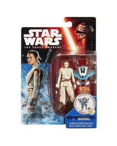 "The Force Awakens 3.75"" Carded Rey (Starkiller Base)(Snow Mission)"
