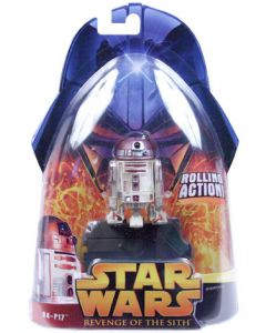 Revenge of the Sith Carded R4-P17 (Rolling Action)