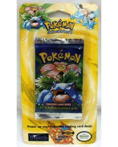 Pokémon 1999 Base Set  Long Crimp Shadowless Venusaur Art Blister Pack C7