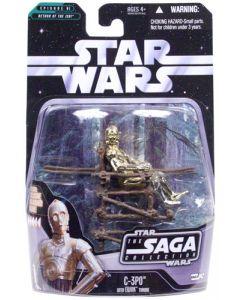 Saga 2 Carded C-3PO (Ewok Deity)