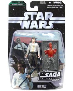 Saga 2 Carded Han Solo (Carbonite)