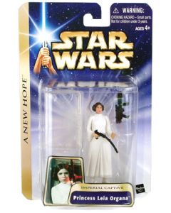 Saga Collection Carded Leia Organa (Imperial Captive - ANH)