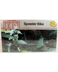 Vintage Star Wars ROTJ Speeder Bike MPC Model Kit // MISB C-9