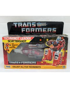 Vintage G1 Transformers 1987 Technobot Leader Scattershot  MIB C7 (Decals Unapplied)