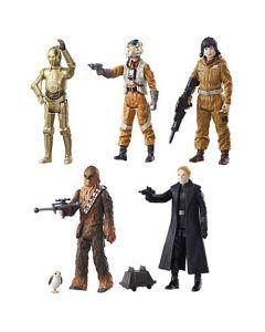 "Star Wars The Last Jedi Teal 3.75"" Action Figures Wave 1 (Set of 5)"