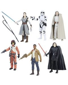"Star Wars The Last Jedi Orange 3.75"" Carded Action Figures Wave 1 (Set of 6)"