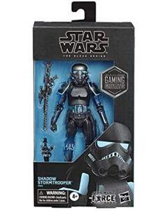 Star Wars 2019 Black Series Gaming Greats Shadow Stormtrooper 6-Inch Action Figure