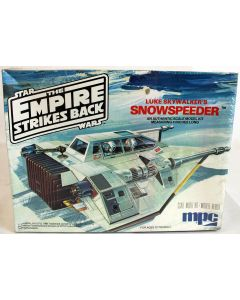 Vintage Star Wars ESB Luke Skywalker's Snowspeeder MPC Scale Model Kit // MISB C-8