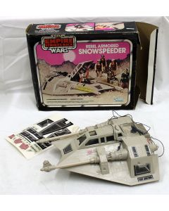 Vintage Star Wars Vehicles Boxed Snowspeeder C6.5 with C6 Box