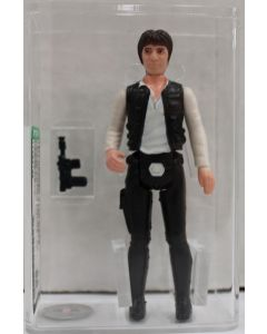 Star Wars Vintage Loose Star Wars Han Solo (large head) AFA 85 NM+ #11392199