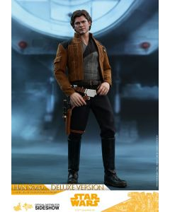 Hot Toys Movie Masterpiece Sixth Scale Han Solo (Deluxe Version) Solo: A Star Wars Story by Sideshow