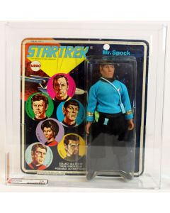 "Mego Star Trek 8"" Carded Series 2 Mr. Spock AFA 70 EX+ #12038186"