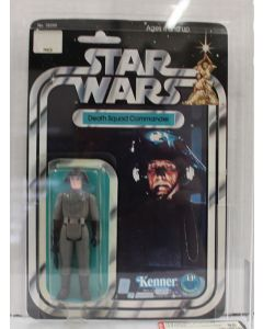 1978 Star Wars Vintage Carded Death Squad Commander 12 Back-A // AFA 85 NM+ #11872018