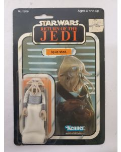 Vintage Kenner Star Wars ROTJ Squid Head // C7.5
