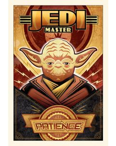 """Licensed Artwork """"Patience"""" - Large Canvas (By Mike Kungl)"""