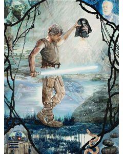 "Licensed Artwork ""Perseus Skywalker"" - Canvas (by Jon Marro)"