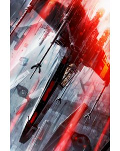 "Licensed Artwork ""The Final Strike"" - Canvas (by Raymond Swanland)"
