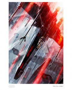"Licensed Artwork ""The Final Strike"" - Paper (by Raymond Swanland)"