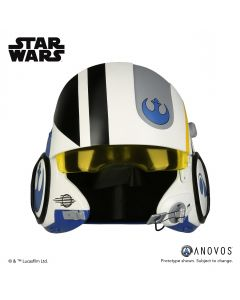 PRE-ORDER: The Force Awakens Poe Dameron Blue Squadron Helmet by Anovos