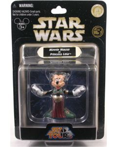 2009 Legacy Collection Exclusive Carded Minnie Mouse as Leia Slave