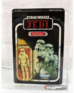 1984 Vintage Star Wars ROTJ 77 Back-A Stormtrooper AFA 75+ Y-EX+/NM #15125867