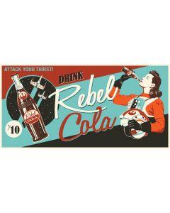 "Licensed Artwork ""Rebel Cola"" - Gallery Wrapped Canvas Gem- (by Steve Thomas)"