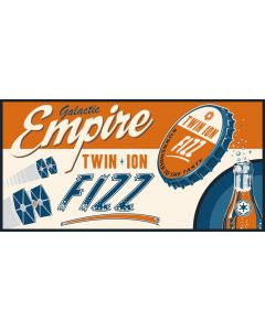 """Licensed Artwork """"Empire Fizz"""" - Gallery Wrapped Canvas Gem- (by Steve Thomas)"""