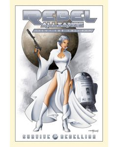 """Licensed Artwork """"Leia"""" - Canvas Wrapped Print (by Mike Kungl)"""