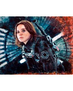 """Licensed Artwork """"Fearless Valor"""" - Giclee on Canvas Large (by Christopher Clark)"""
