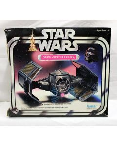 Vintage Star Wars Vehicles Boxed Darth Vader TIE Fighter C8 with C3 Box