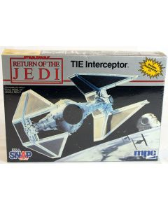 Vintage Star Wars ROTJ TIE Interceptor MPC Model Kit // MISB C-9