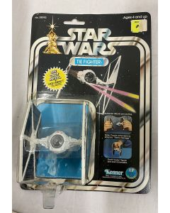 Vintage Star Wars DieCast Carded TIE Fighter - C1 Card and C8 Toy