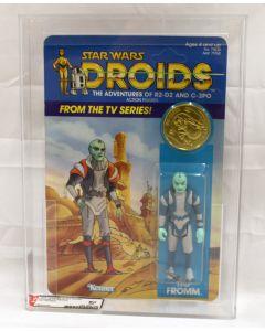 Vintage 1985 Star Wars Droids TV Series Tig Fromm AFA 80 (C80 B85 F80) #18603246