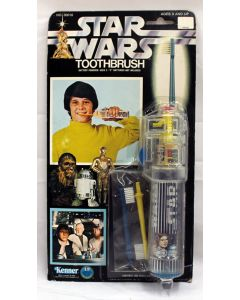 Vintage 1977 Star Wars Carded Battery-Powered Toothbrush MOC C7