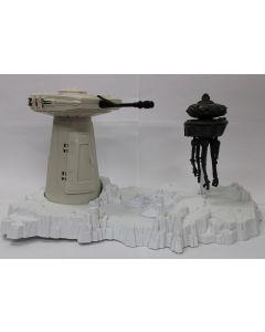 Star Wars Vintage Loose Turret and Probot Playset // C7.5 (missing turret)