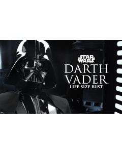 PRE-ORDER: Sideshow Collectibles 1:1 Scale Darth Vader With Helmet Life-Size Bust