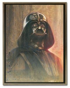 Licensed Artwork Timeless Series Vader-Canvas Print- (by Jerry Vanderstelt)