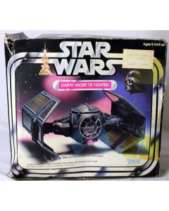 Star Wars Vintage Vehicles Loose Darth Vader Tie Fighter C9 w/ C3 Box