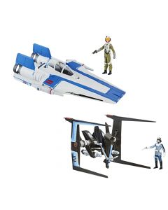 Star Wars The Last Jedi Vehicle Wave Set of 2