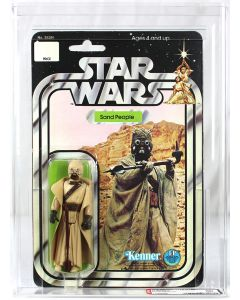 Vintage Star Wars 20 Back-A Sand People Action Figure AFA 80 NM #11858429**