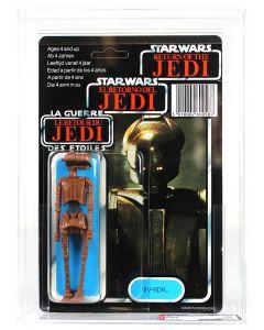 Vintage Star Wars Tri-Logo EV-9D9 Figure AFA 90NM+/MT #11724870*